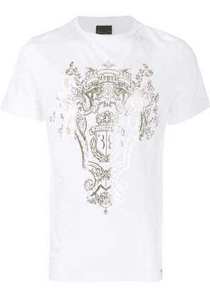 Billionaire logo T-shirt - White