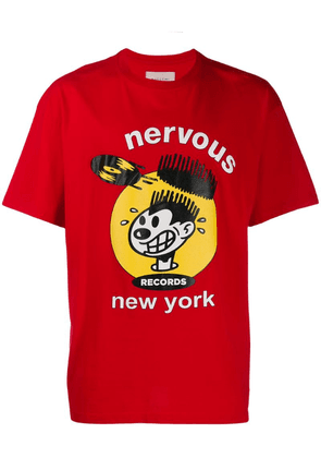 Buscemi nervous T-shirt - Red