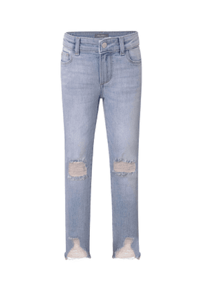 Chloe Distressed Skinny Jeans, Size 2-6