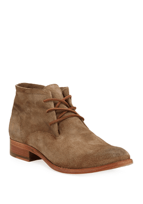 Carly Suede Chukka Booties