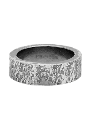 Chin Teo Silver Silk Ring
