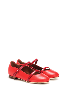 Maureen Smalls leather ballet flats