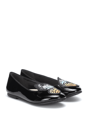 Bibi Butterfly leather ballet flats