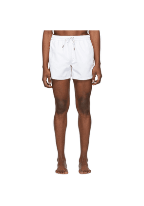 Hugo White Mustique Swim Shorts