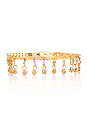 Exclusive to Mytheresa – 24kt gold-plated anklet