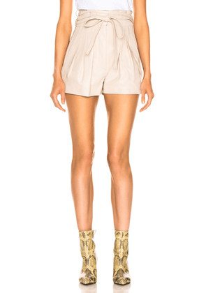 IRO Tenacity Shorts in Sand - Neutral. Size 42 (also in ).