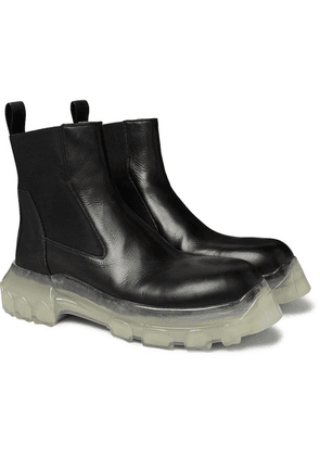 Rick Owens - Leather Chelsea Boots - Black