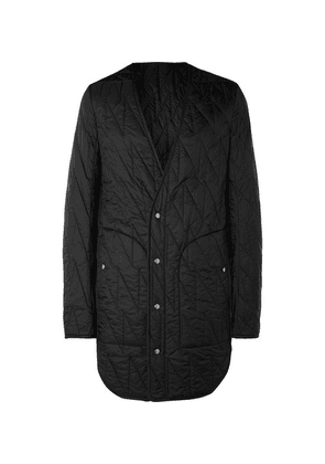 Rick Owens - Quilted Shell Coat - Black
