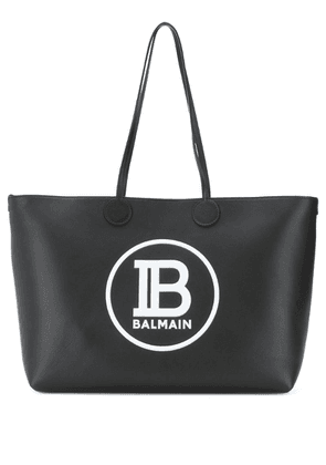 Balmain medium shopping tote bag - Black