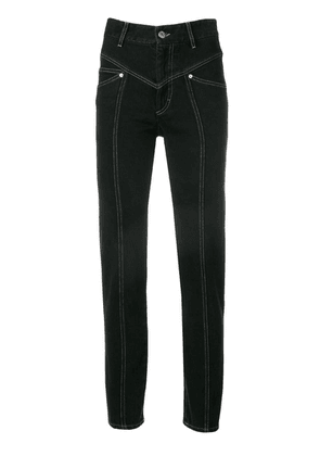 Isabel Marant Lorrick slim-fit jeans - Black