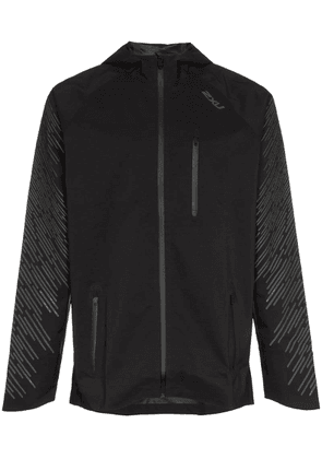 2Xu Heat hooded jacket - Black