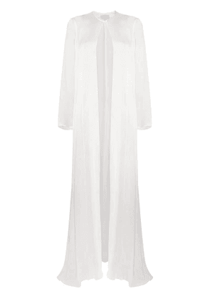 Temperley London Lullaby silk shawl - White