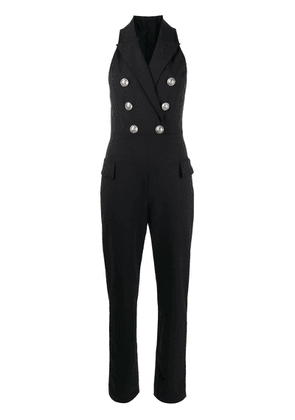 Balmain double-breasted jumpsuit - Black