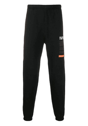 Heron Preston NASA track pants - Black