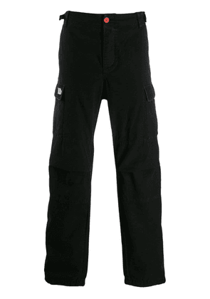 Heron Preston logo cargo trousers - Black