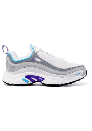 Reebok - Daytona Dmx Leather And Mesh Sneakers - White