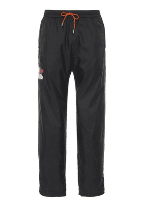 Heron Preston Logo-Appliquéd Shell Joggers