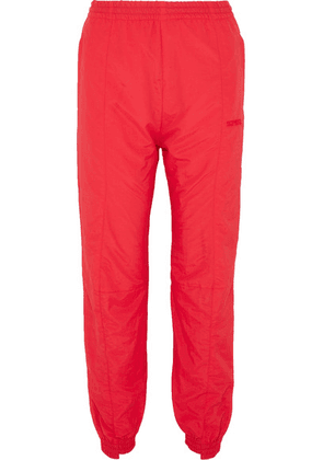 Vetements - Paneled Shell Track Pants - Red