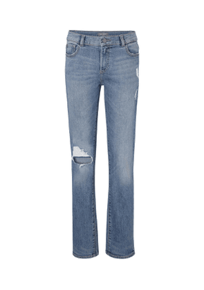 Boys' Hawke Skinny Ripped Straight-Leg Jeans, Size Youth 7-18