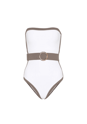 Whitney belted swimsuit
