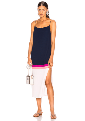 FLAGPOLE Lennon Dress in North Navy Multi - Blue,Pink,Stripes. Size XS (also in ).
