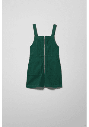 Devon Dungaree Dress - Green