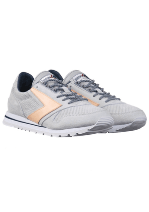 Brooks Heritage x Atmos Chariot Shoes - Grey Colour: Grey/Pale Pink/Na