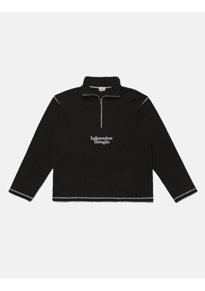 SCRT Independent Thought Pullover Sweatshirt - Black/White