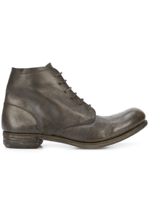A Diciannoveventitre lace-up ankle boots - Green