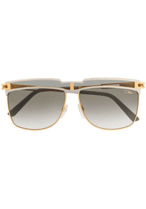 Cazal square frame sunglasses - Metallic