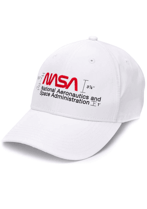 Heron Preston NASA logo cap - White