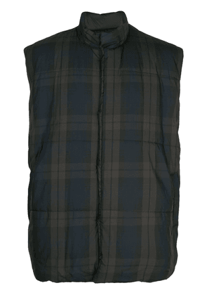 Fear Of God plaid gilet - Black
