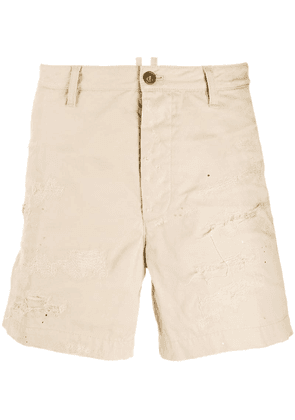 Dsquared2 distressed shorts - Neutrals
