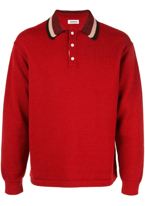 Coohem knitted polo shirt - Red
