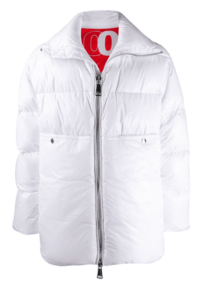 Khrisjoy quilted padded coat - White