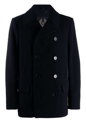 Belstaff double-breasted coat - Blue