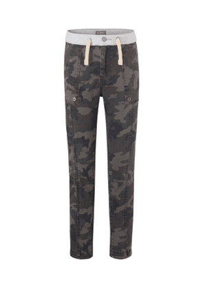 Boys' William Camo-Print Track Chino Pants, Toddler Sizes