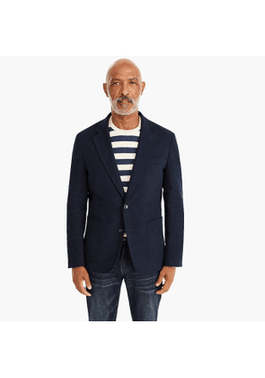 Ludlow slim-fit blazer in moleskin