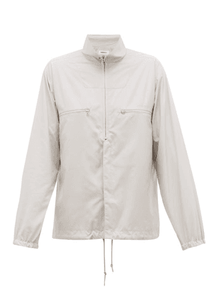 Ambush - Zip Up Technical Shell Shirt - Mens - Grey