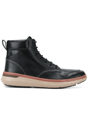 Armani Jeans lace-up ankle boots - Black