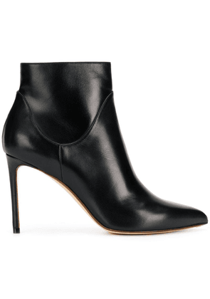 Francesco Russo stiletto ankle boots - Black