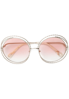 Chloé Eyewear Carlina sunglasses - White
