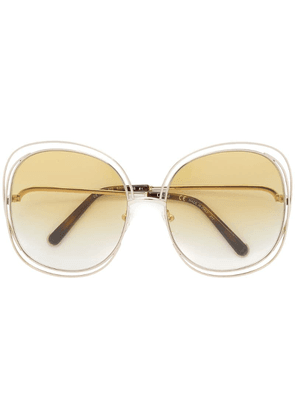 Chloé Eyewear Carlina sunglasses - Metallic
