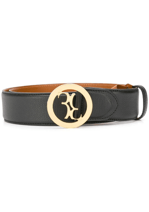 Billionaire logo buckle belt - Black
