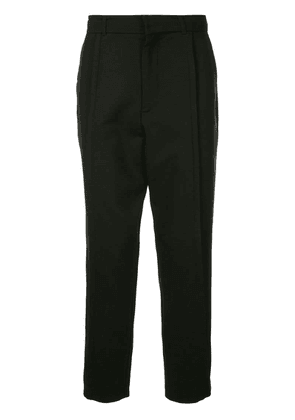 Ann Demeulemeester tailored tapered trousers - Black