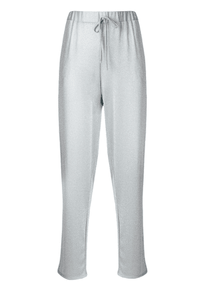Blugirl sparkly casual track pants - Grey