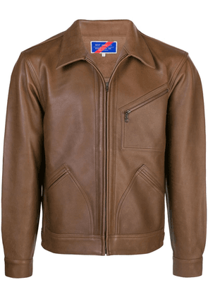 Best Made Company Rider leather jacket - Brown