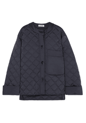 Jil Sander - Quilted Shell Jacket - Navy