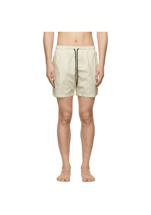 Solid and Striped Off-White Classic Swim Shorts
