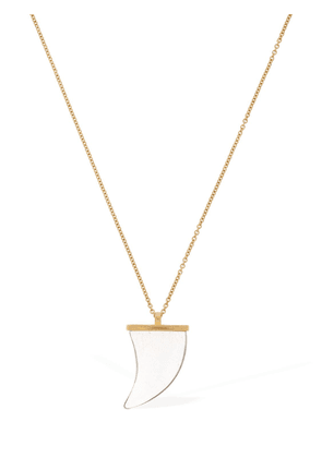 Gold Colored Brass Necklace